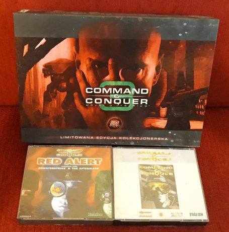 Command & Conquer + Red Alert + Command & Conquer 3 PC Big Box