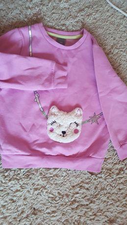bluza różowa na 110