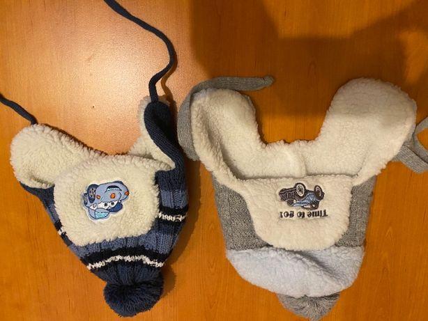 czapki zimowe dla 1-2lata