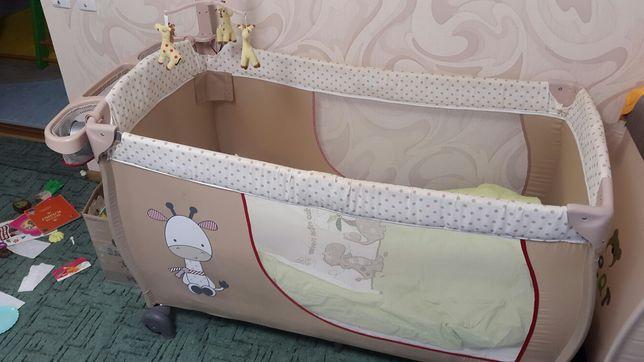 Кровать.манеж.ліжко.Hauck (ПОДАРОК)