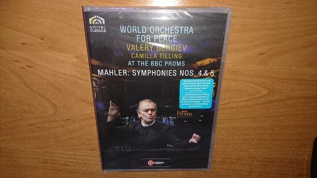 Mahler: Symphonies Nos. 4 and 5 DVD