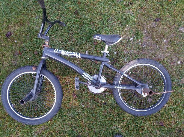 Rower BMX + pegi