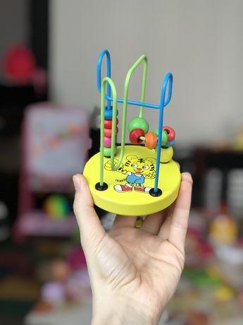 Лабиринтик для сенсорной моторики пальчиков (с 6-ти месяцев!) Ребёнка