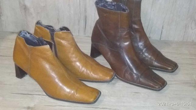 Сапоги ботинки лаковая кожа р.39