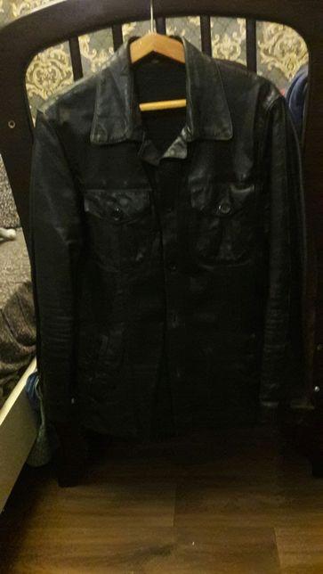 Кожаная куртка,пиджак,педжак ,кожа