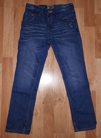 Spodnie dżinsy chłopięce Next 128