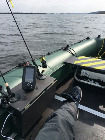 Столик в лодку,держатель эхолота раскладной,трансформер.