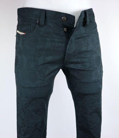 Diesel Tepphar-A 0AABD spodnie jeansy W31 L32 pas 2 x 43 cm