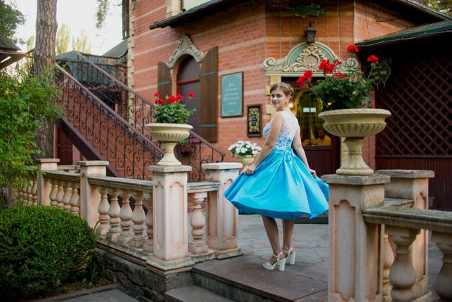 Продам выпускное-вечернее платье