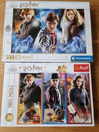 Zestaw puzzli Harry Potter 500 i 200 elementów
