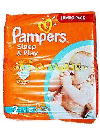 Подгузники PAMPERS Sleep & Play Mini 2 от 3 до 6 кг 88 шт