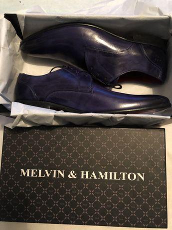 Sznorowane półbuty Melvin&Hamilton