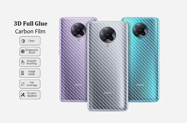 Карбоновая пленка Xiaomi Redmi K20 Note 5 6 7 9 C A Pro Mi Mix Max 3 2