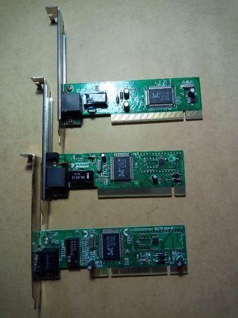 Сетевые карты PCI разных производителей 10/100 Мбит/с