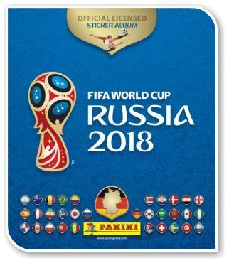 Cromos Russia 2018 PANINI