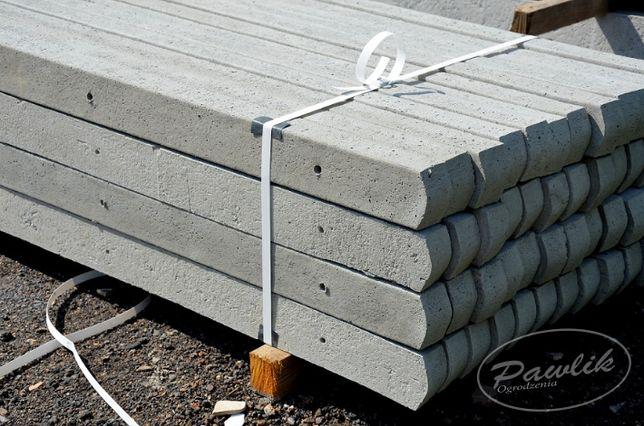 Słupy betonowe słupki do siatki leśnej EL 2.20m 2.00m 1.80m 1.60m