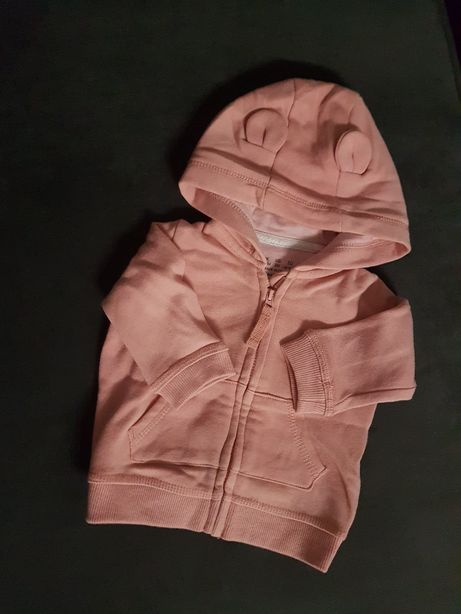 Bluzy, kurtka i kamizelki jesienne 0-3 msc 62-68