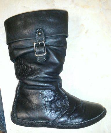 Сапоги ботинки натур кожа утепленые NOEI ERGOKID Франция стелька 15