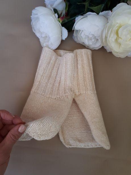 Вязаный шарф манишка снуд на 1-2года
