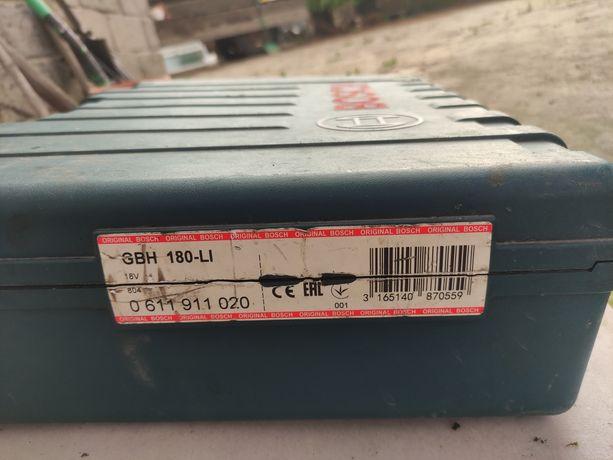 Sprzedam młotowiertarkę akumulatorową bosch gbh 180li