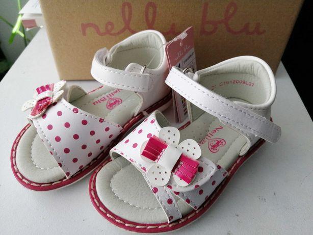 Nowe sandały, sandałki dla dziewczynki rozm 21