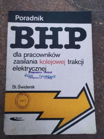 BHP dla pracowników zasilania kolejowej trakcji elektrycznej, 1988 rok