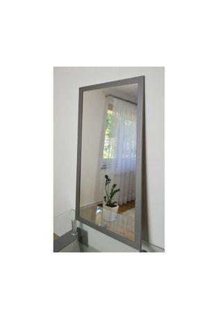 Duże lustro 4501 klasyczna biała rama 45x150cm Transport gratis