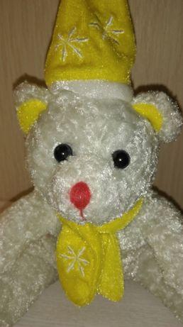 Подарочная мягкая игрушка обнимашка белый мишка Умка от фирмы Toys.