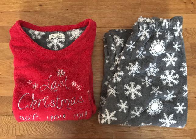 Pijama com motivos natalícios