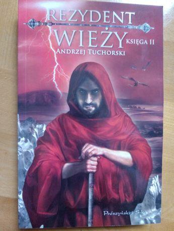 Książka Rezydent Wieży cz. 2 Andrzej Tuchorski