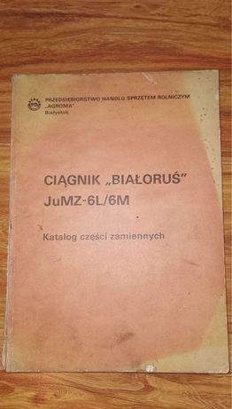 """Książka ciągnik """"białoruś"""" JuMZ-6L/6M"""