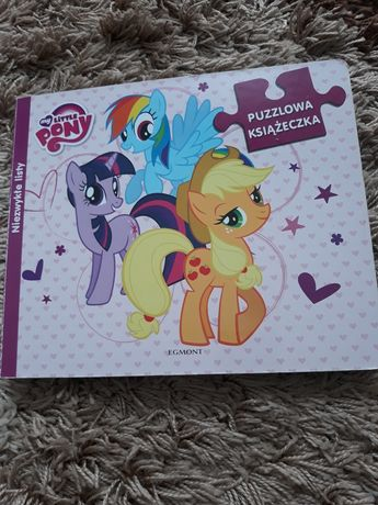 Puzzle my little pony niezwykle listy. Ukladanka puzle kucyki pony