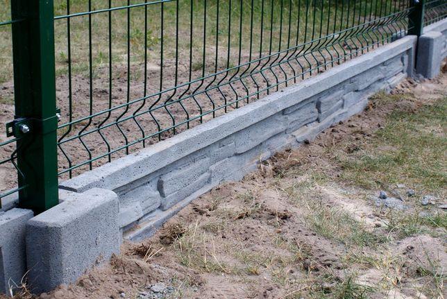Podmurówka płyta betonowa płyta prefabrykowana ogrodzeniowa