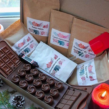 Шоколад своими руками. Подарок для детей. Настоящий шоколад.
