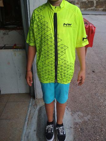 Camisola ciclismo L