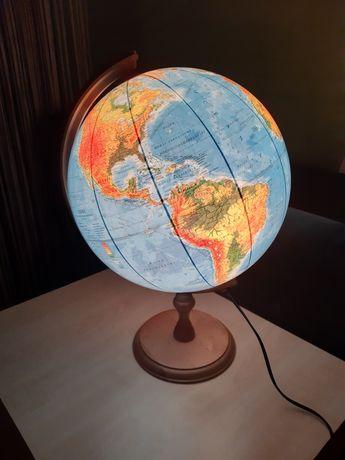 Globus podświetlany