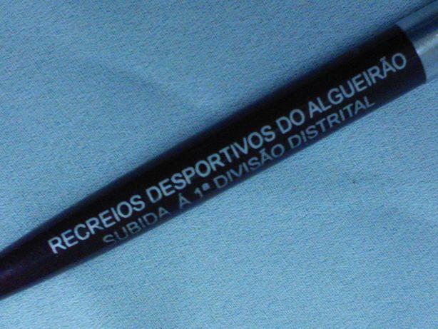 Esferográfica comemorativa subida divisão Recreios Desport. Algueirão