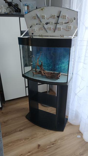 Szafka pod akwarium profilowane 60x30(63litry)