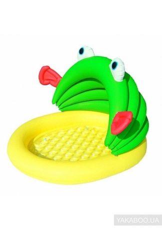 Бассейн детский надувной со съемным навесом Bestway Лягушенок