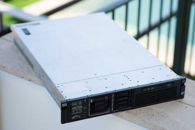 Servidor Rack - HP Proliant DL380 G7 - E5630x2 (8c/16t) + 36GB RAM
