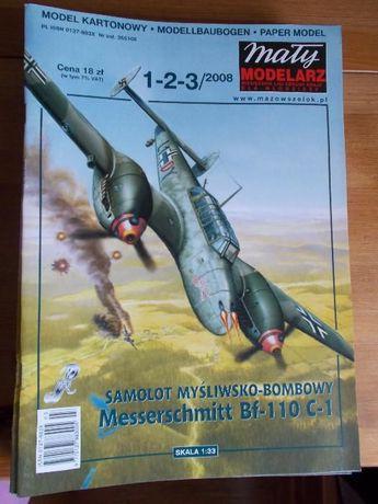 Model Myśliwsko Bombowy Messerschmitt BF-110 C-1