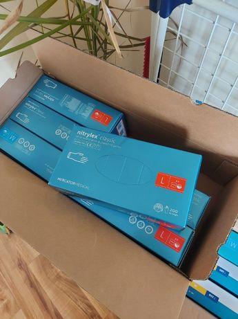 Rękawiczki Nitrylowe Nitrylex Zarys Velo Abena S M L XL 100 i 200szt