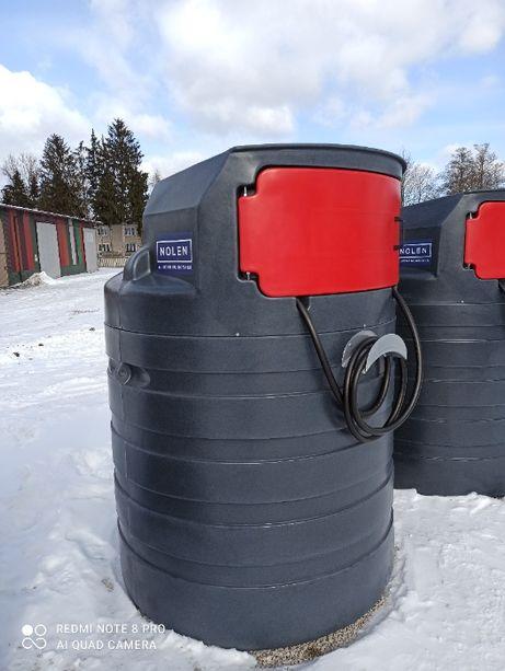 Zbiornik na paliwo ropę 1500l z FILTREM
