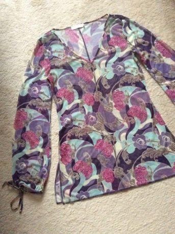 Elegancka bluzka, tuniczka firmy: CUBUS, na wesele, modna mgiełka