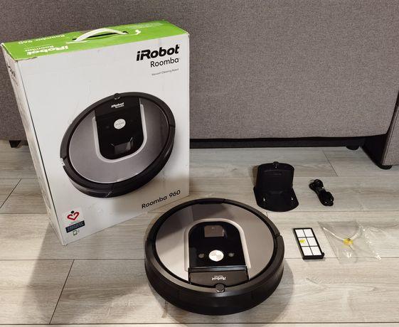 Odkurzacz Automatyczny Irobot Roomba 960 skanowanie Ładny Stan