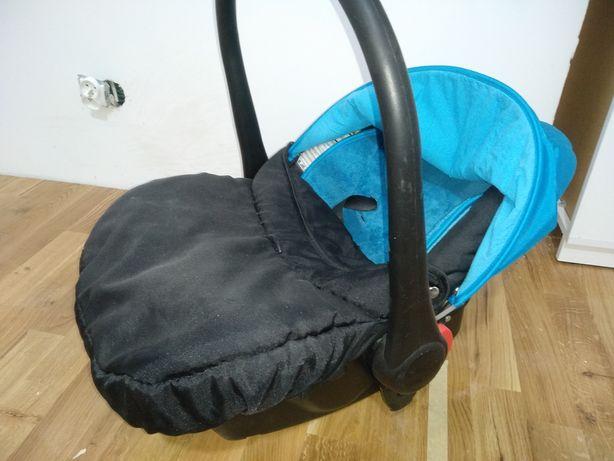 Fotelik samochodowy, nosidełko, niemowlę, noworodek gondola spacerówka