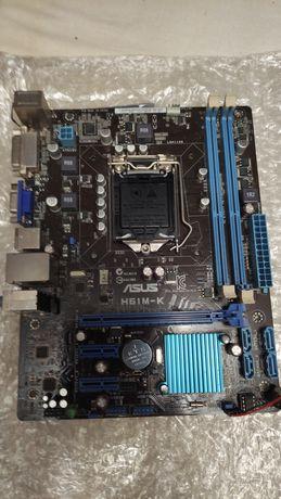Материнская плата Socket 1155 Asus Н61М-К