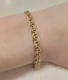 Золотой браслет Нонна Бисмарк код 117171