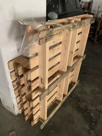 6 paletes de madeira
