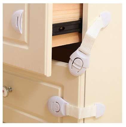 Fechos Segurança/Baby Locks/Bloqueio Portas e Gavetas